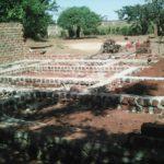 Fundament des Mutoto-Kindergartens