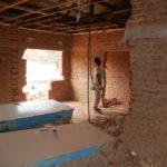 Völlig entkernt wurden die Räume des Village Mutoto