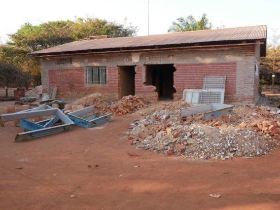 Das Internat im Village Mutoto wurden 2005 gebaut.