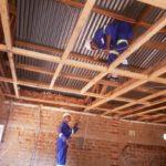 Auch das Holz im Dachstuhl musste erneuert werden