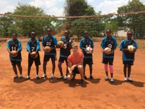 Volleyballteam Village Mutoto