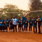 Volleyball im Mutoto Village
