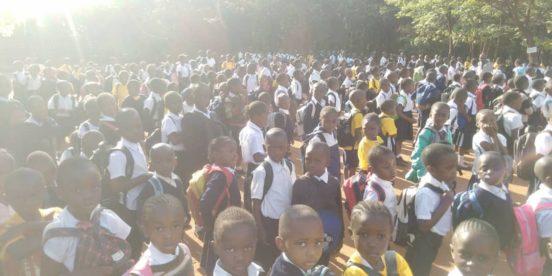 Einschulung Mutoto Village 2019
