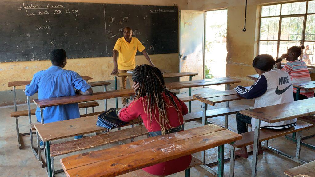 Mutoto Schule Corona