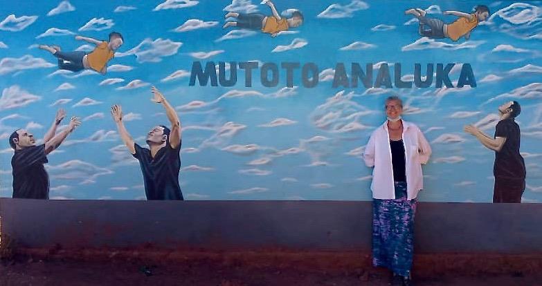 Blanka Village Mutoto mauer